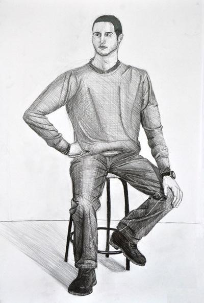 Yetenek Sınavlarına Hazırlık öğrenci çizimlerimiz Resim Kursu