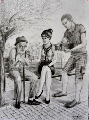 Imgesel çizimlerimiz Istanbul Resim Kursu